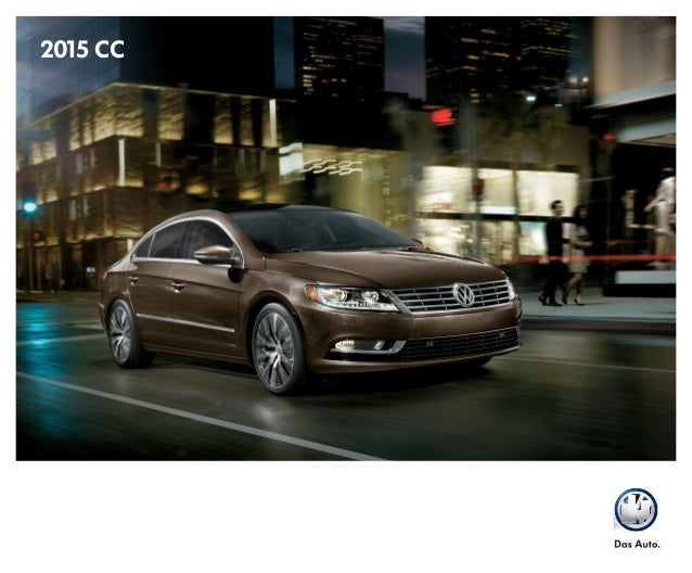 2015 Volkswagen Cc Brochure Houston Area Vw Dealer