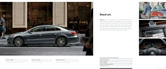 2015 Volkswagen Cc Brochure Houston Area Vw Dealer