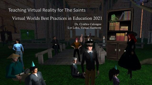 Dr. Cynthia Calongne Lyr Lobo, Virtual Harmony