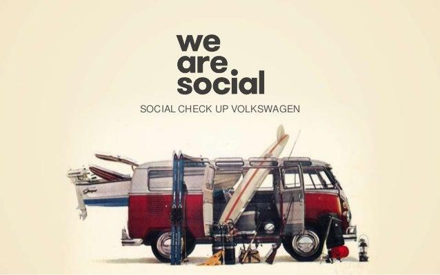SOCIAL CHECK UP VOLKSWAGEN