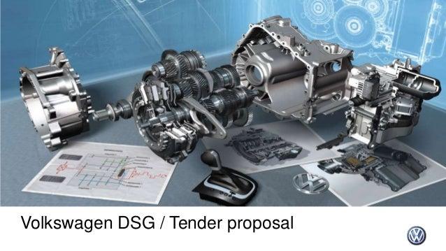 Vw Dsg Tender Presentation 14042014