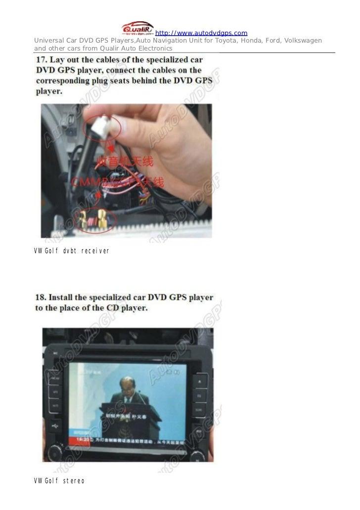Indash DVD GPS Radio for VW Golf -HD Digital Panel RDS DTS iPod insta…