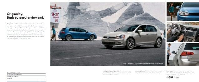 2015 Volkswagen Golf Brochure, Neil Huffman Volkswagen