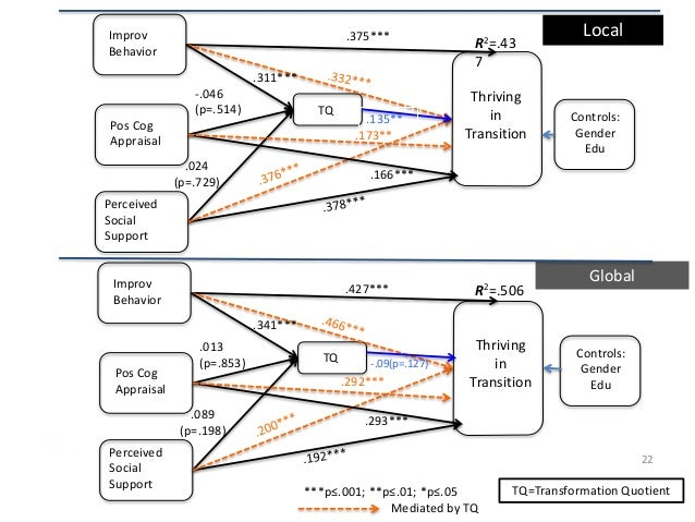 cognitive appraisal mediates the relationship between a cathode