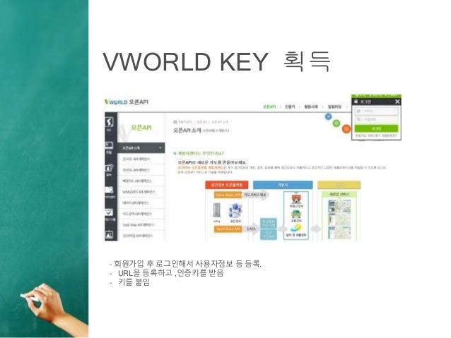 Vworld api desktop에서 쓰기 Slide 3