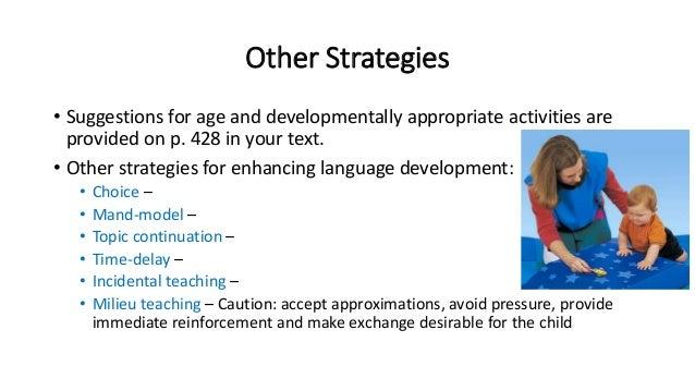 Chapter 16 facilitating speech, language, and