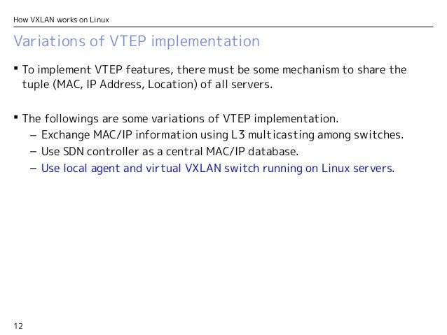 How VXLAN works on Linux