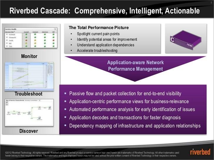 5    Riverbed Cascade: Comprehensive, Intelligent, Actionable                                                             ...