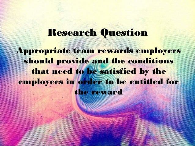 team performance reward Effect of teamwork on employee performance  there is positive relationship between the team performance and  reward and recognition can provide both.