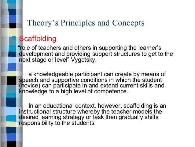 An Introduction to Using Vygotsky Scaffolding in the Classroom