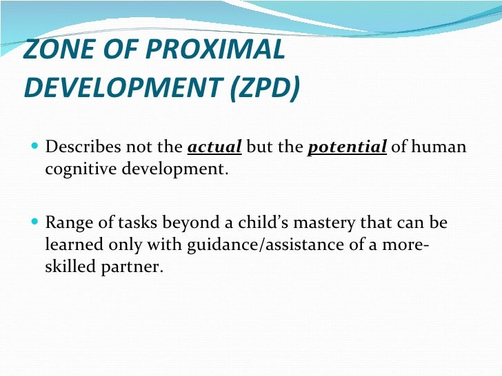 Vygotsky zone of proximal development ccuart Images