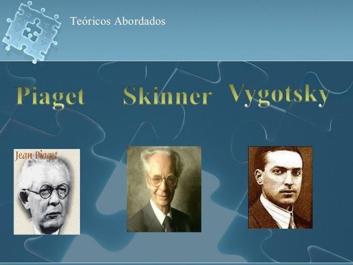 Vygotsky e as teorias da aprendizagem Slide 3