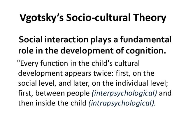 vygotskys theory I argue that vygotsky's theory of concept formation (1986) is a powerful  framework within which to explore how an individual at university level constructs  a new.