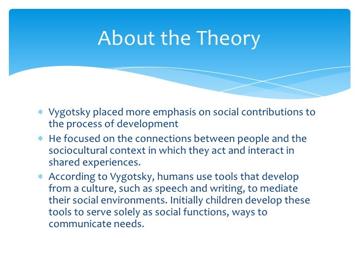 Vygotsky Theory