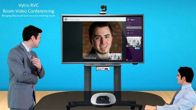 Vytru RVC Room Video Conferencing Bringing Microsoft Lync to your meeting room