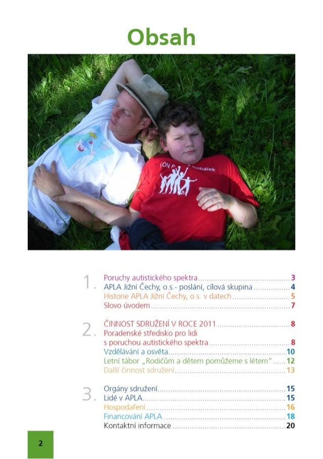 Výroční zpráva 2011 APLA Jižní Čechy, o.s. Slide 2
