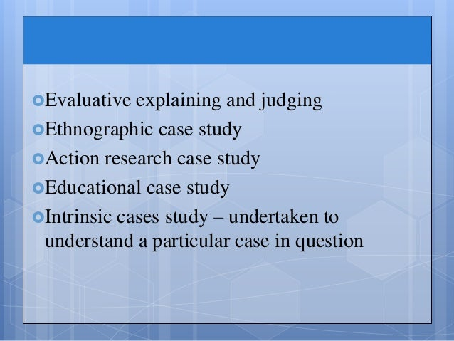 Instrumental case study definition