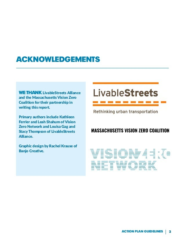 Vision, Strategies, Action: Guidelines for an Effective Vision Zero Action Plan Slide 2