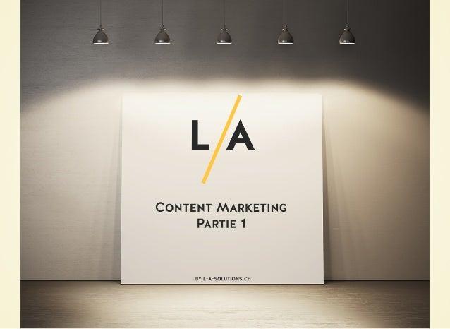 PourquoiPourquoi le marketing de contenu? & Que peut -il apporter à mon entreprise?