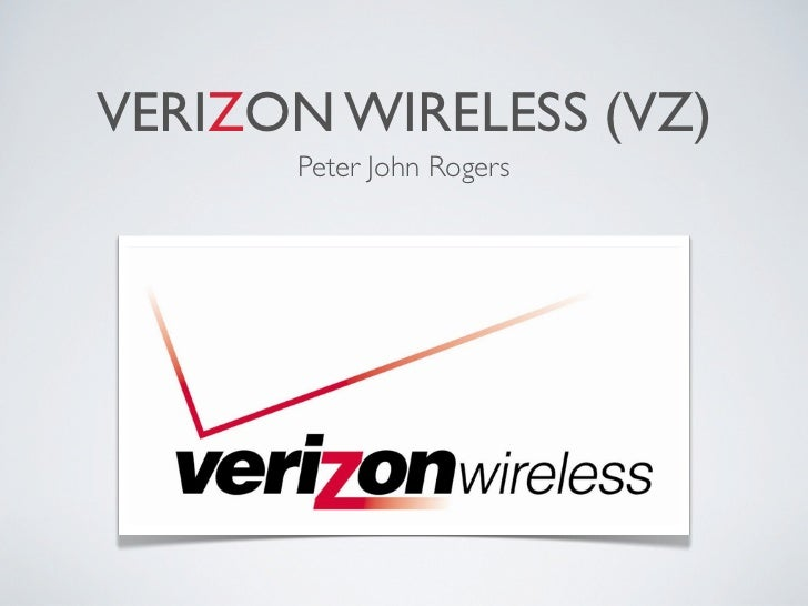 VERIZON WIRELESS (VZ)      Peter John Rogers
