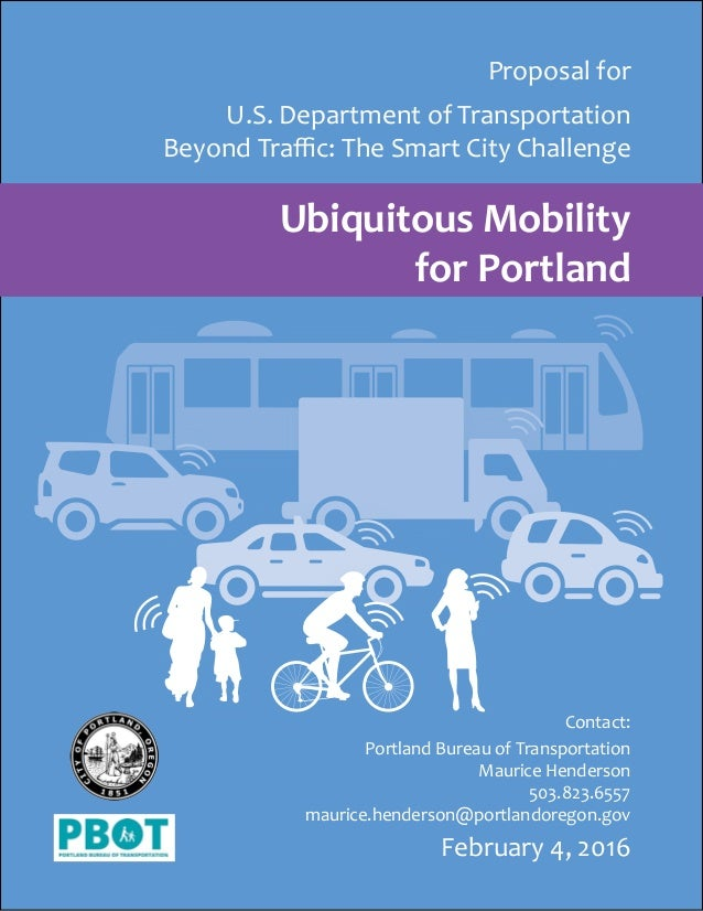 Smart City Challenge >> Portland Smart City Challenge