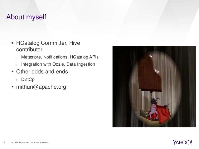 Hive and Apache Tez: Benchmarked at Yahoo! Scale Slide 2