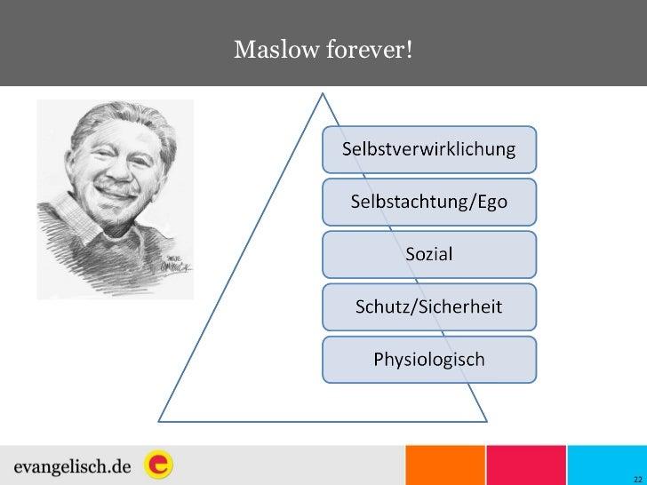 Maslow forever!