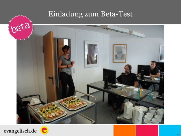 Einladung zum Beta-Test