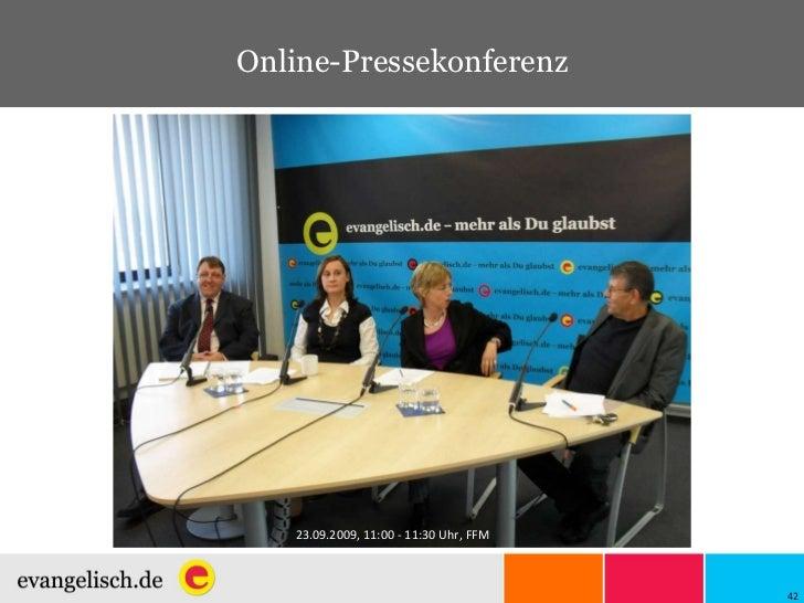 Online-Pressekonferenz 23.09.2009, 11:00 - 11:30 Uhr, FFM