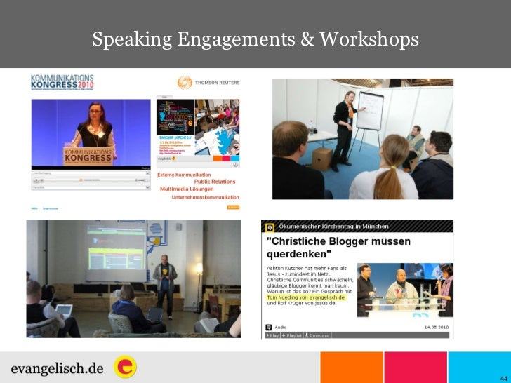Speaking Engagements & Workshops