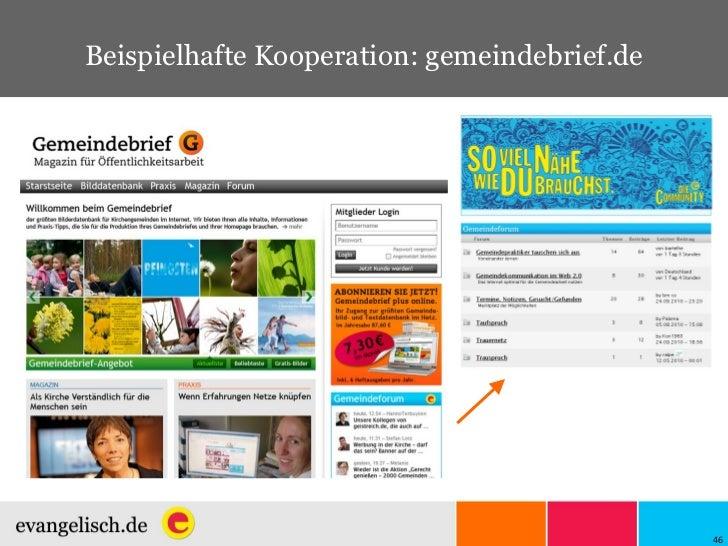 Beispielhafte Kooperation: gemeindebrief.de