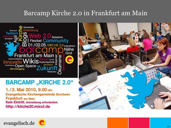 Barcamp Kirche 2.0 in Frankfurt am Main