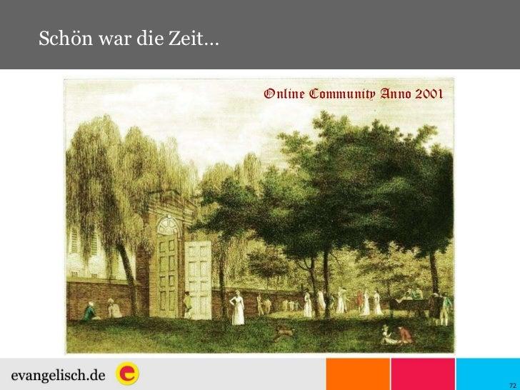 Schön war die Zeit… Online Community Anno 2001