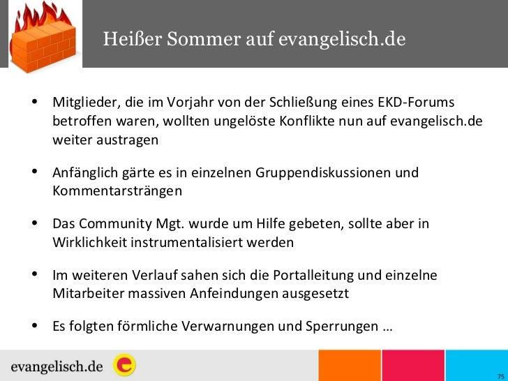 Heißer Sommer auf evangelisch.de <ul><li>Mitglieder, die im Vorjahr von der Schließung eines EKD-Forums betroffen waren, w...