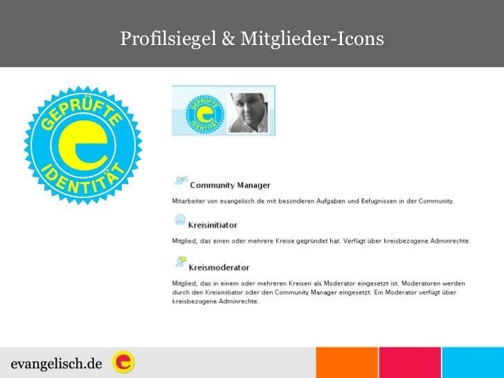Profilsiegel & Mitglieder-Icons