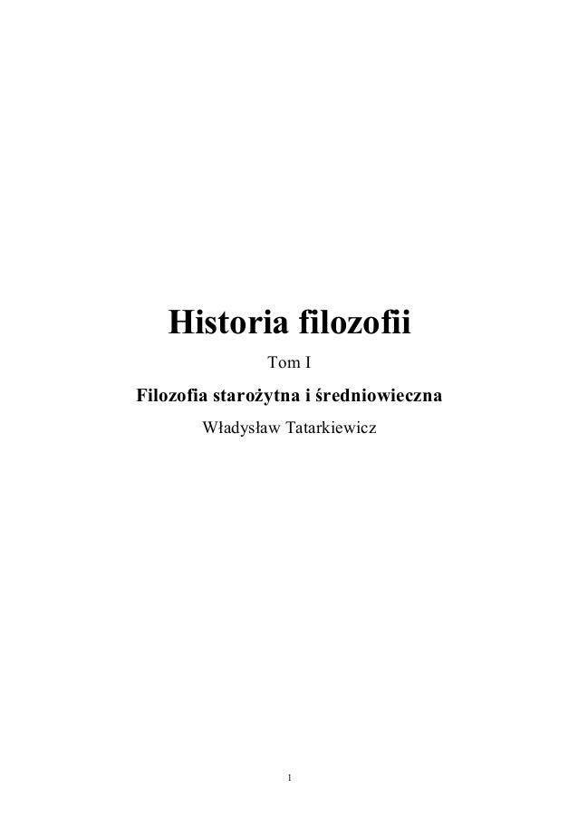 FILOZOFIA TATARKIEWICZ DOWNLOAD