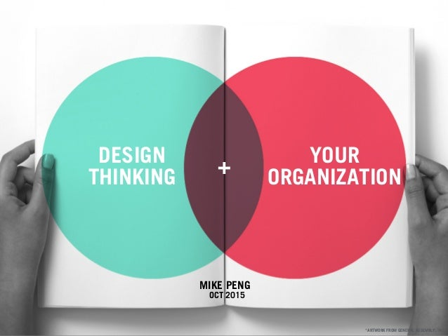 MIKE PENG OCT 2015 DESIGN THINKING YOUR ORGANIZATION + *ARTWORK FROM GENERAL ASSEMBLY, INC.