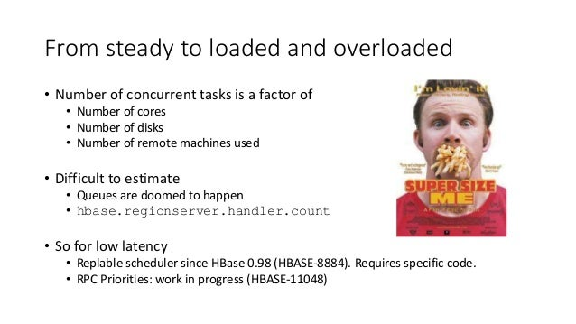 From steady to loaded and overloaded • Number of concurrent tasks is a factor of • Number of cores • Number of disks • Num...