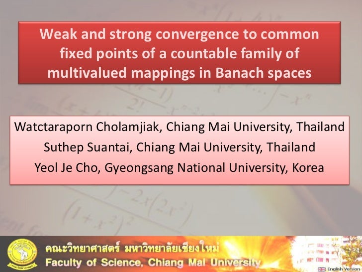 Weak and strong convergence to common fixed points of a countable family of multivalued mappings in Banach spaces<br />Wat...