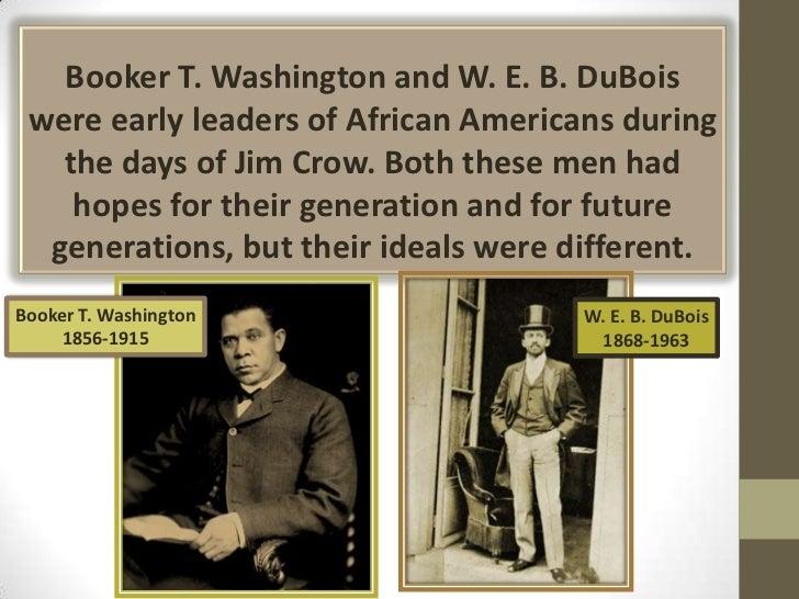 Booker T. Washington vs. W.E.B. Dubois?