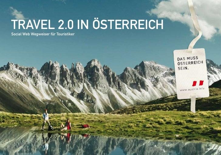 Travel 2.0 in ÖsTerreich social Web Wegweiser für Touristiker