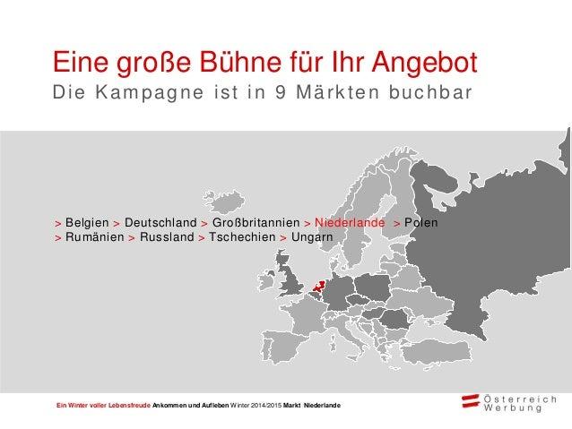 ÖW Marketingkampagne Winter 2014/15 Niederlande Slide 3