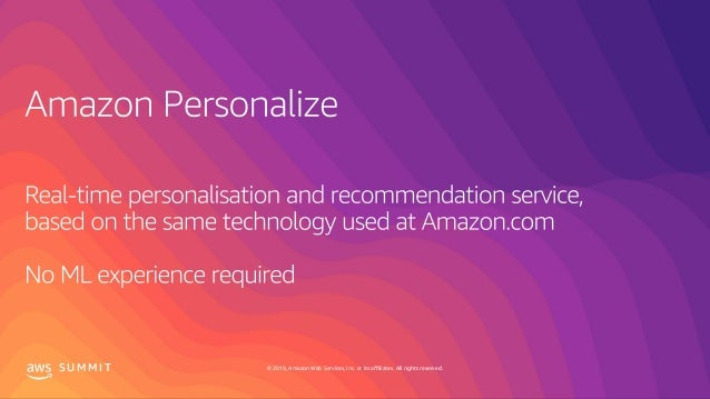 Bringing Amazon Personalize to life with Domino's Pizza