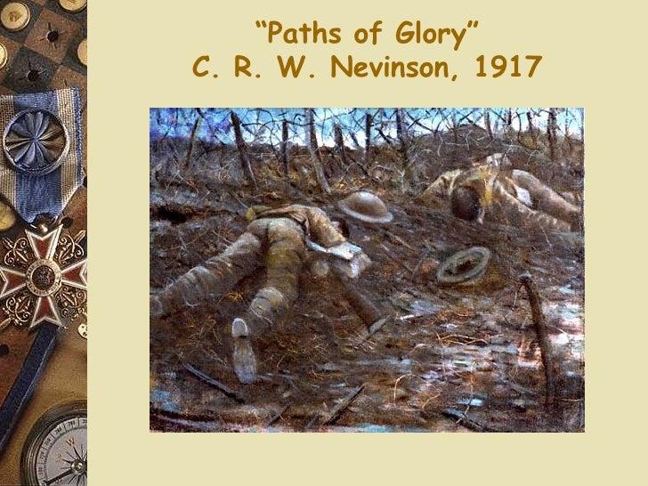 """ Paths of Glory"" C. R. W. Nevinson, 1917"