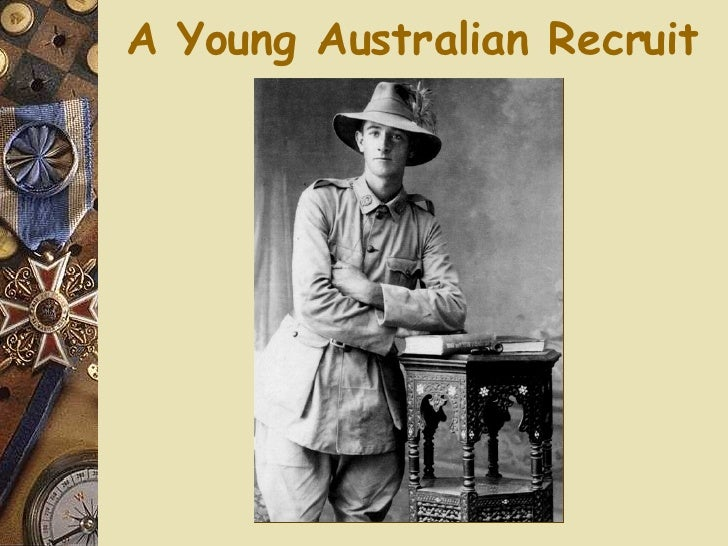 A Young Australian Recruit
