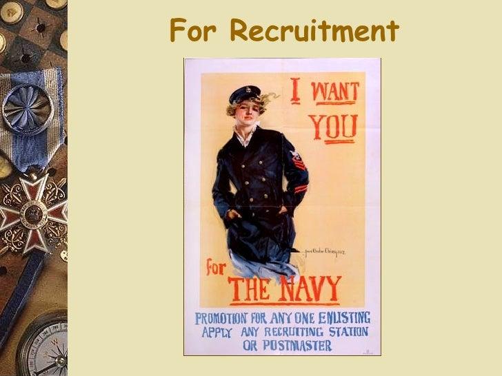 For Recruitment