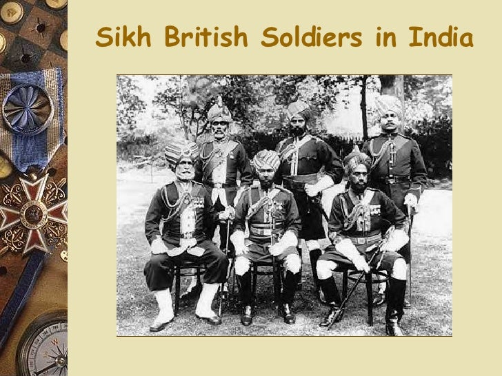 Sikh British Soldiers in India