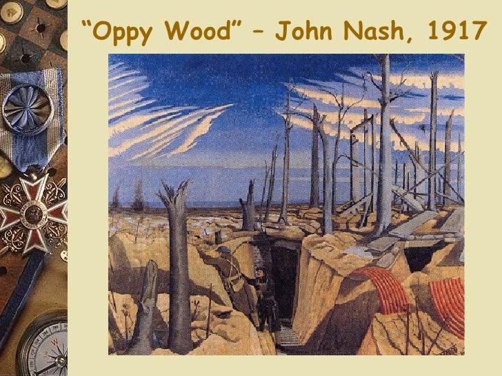 """"""" Oppy Wood"""" – John Nash, 1917"""