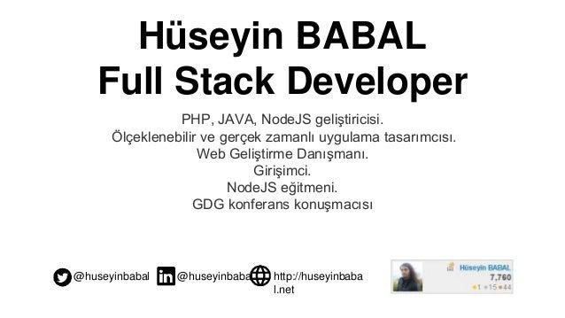 NodeJS ve API Tasarım Temelleri Slide 2