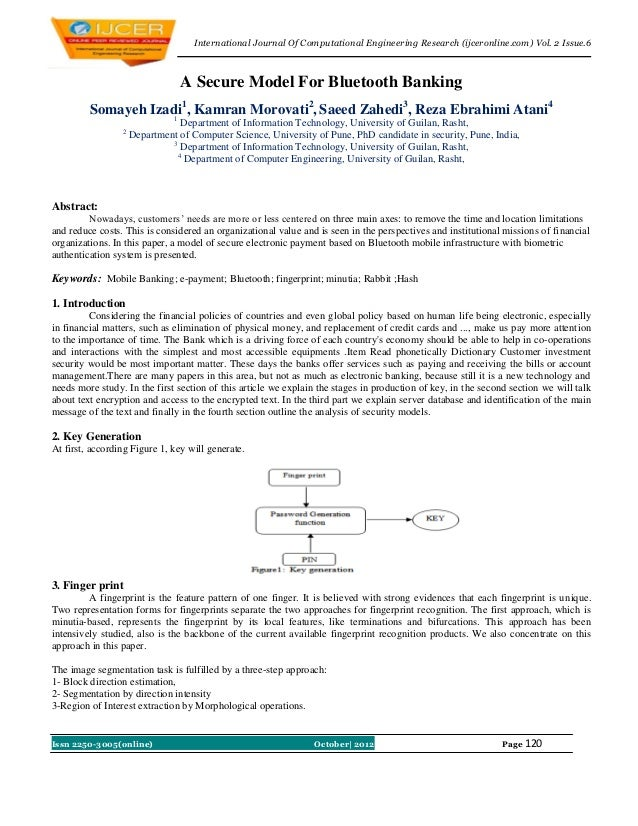 International Journal Of Computational Engineering Research (ijceronline.com) Vol. 2 Issue.6                              ...